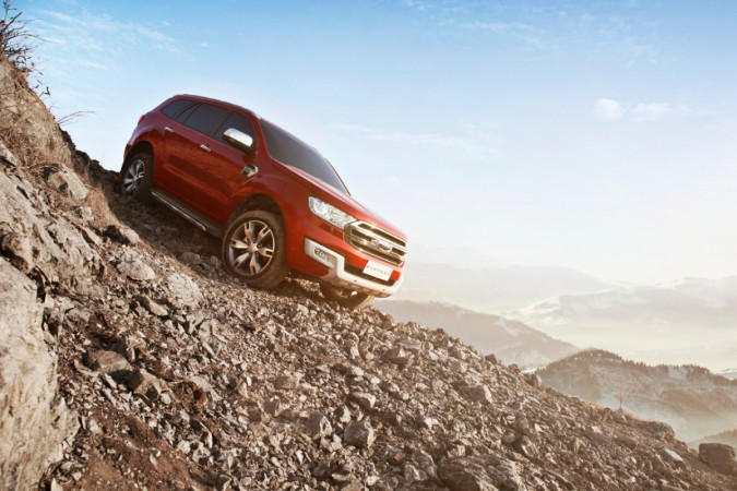 Ford Endeavour aka Everest