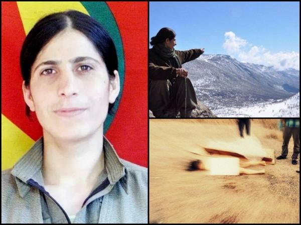 Ekin Van, a PKK female militant was killed in a battle on 10 August.