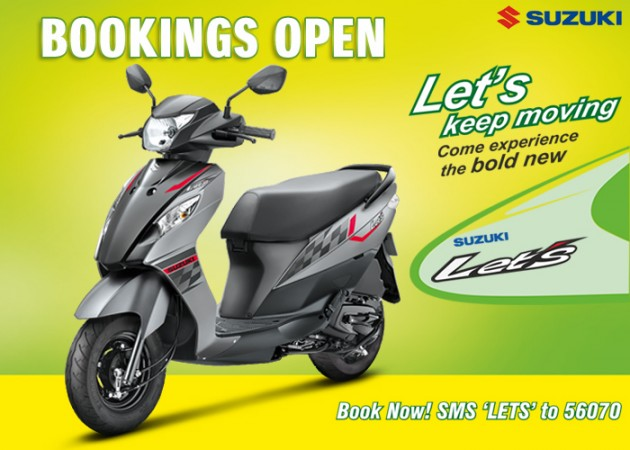 Suzuki Let's Gets New Colours Shades