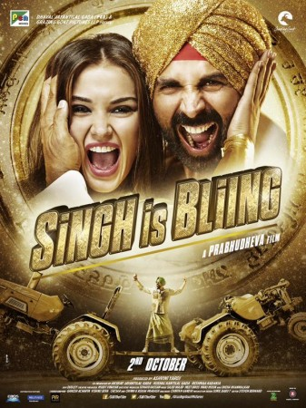 'Singh Is Bliing' Poster