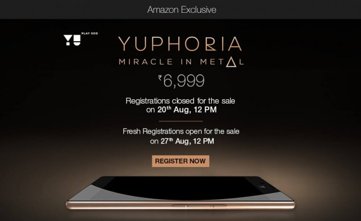 Rs 6,999 YU Yuphoria Flash Sale On Amazon Kicks Off At 12PM Tomorrow: Tricks To Purchase