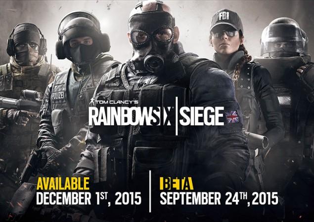 Ubisoft's Rainbow Six Siege