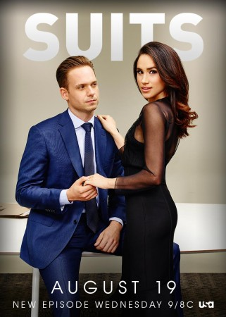 Mike and Rachel in 'Suits'