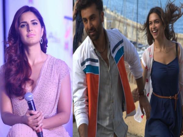 Katrina Kaif, Ranbir Kapoor, Deepika Padukone
