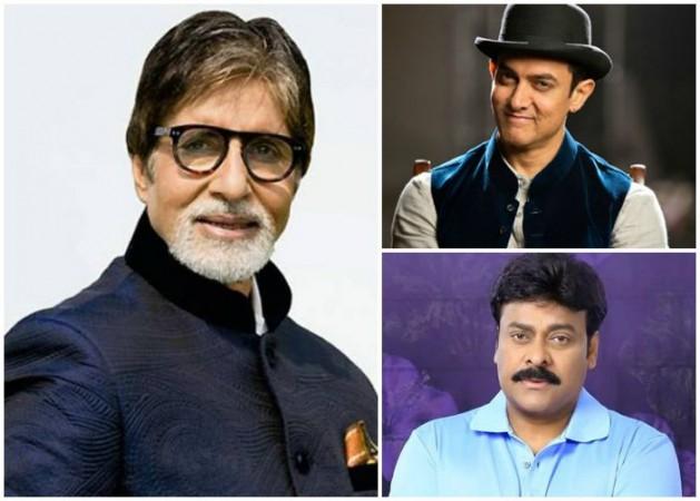 Amitabh Bachchan, Aamir Khan, Chiranjeevi