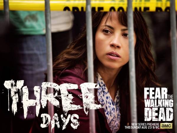Elizabth Rodriguez as Lisa in 'Fear the Walking Dead'