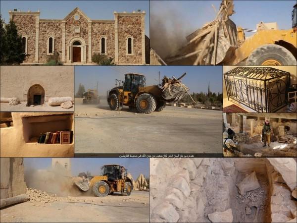 1,500-year-old Mar Elian Catholic monastery in Qaryatain