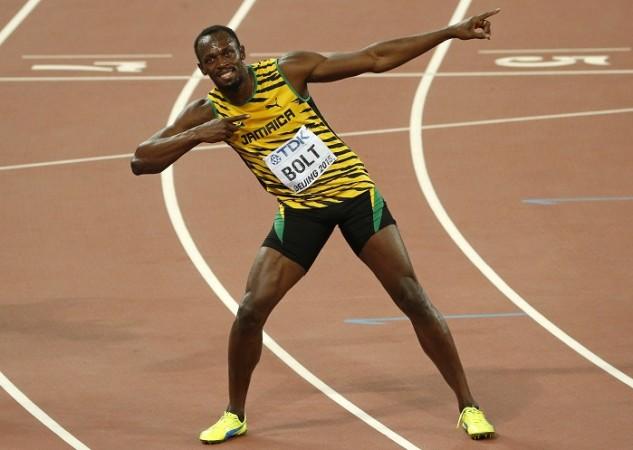 Usain Bolt Jamaica World Athletics Championships 2015