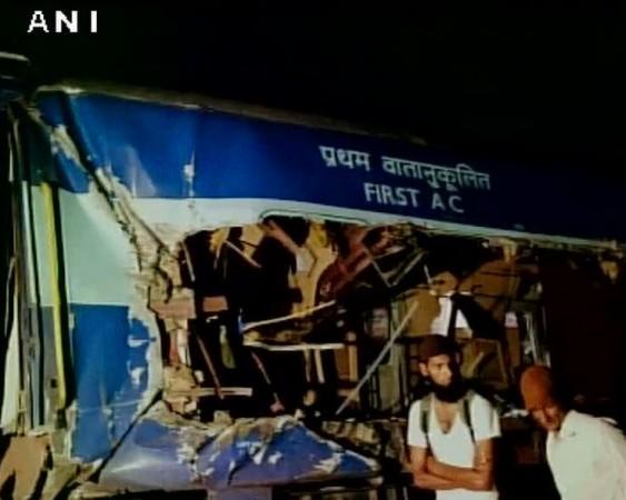 Bangalore nanded train collision