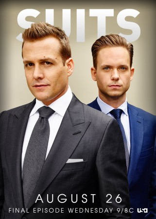 'Suits' summer finale on 26 August