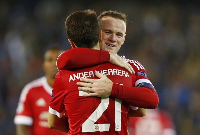 Wayne Rooney Ander Herrera Manchester United