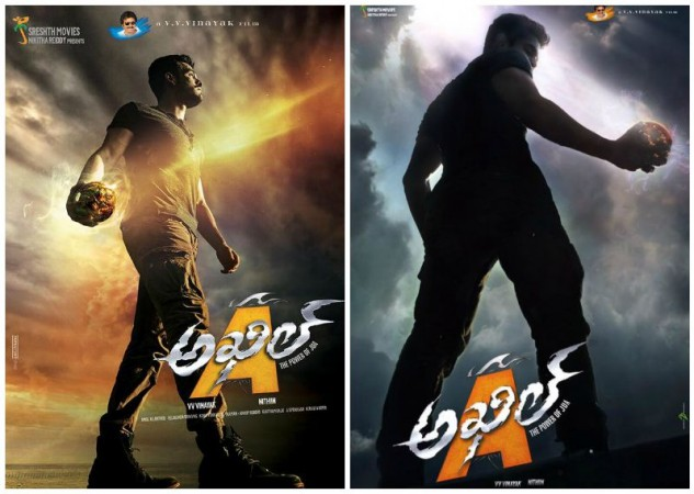 Akhil Akkineni's First Look in His Debut Movie