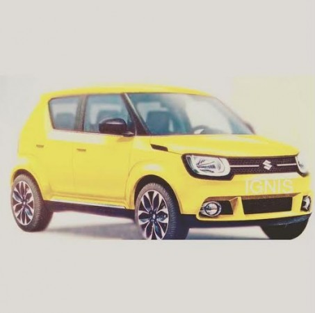 Suzuki's iM-4 Mini SUV to be Named Ignis