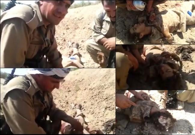 Peshmerga soldiers show kindness to Isis