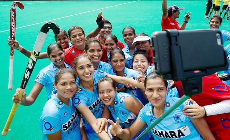 india women's hockey