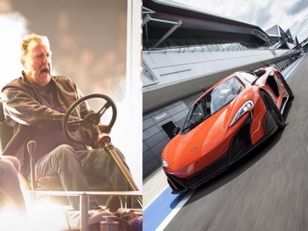 Jeremy Clarkson and Mclaren 675 LT