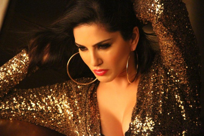 A picture of Sunny Leone in 'Baby Doll' Track