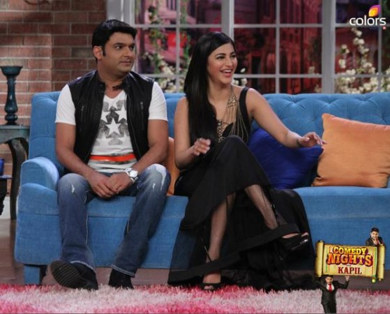'Comedy Nights With Kapil': Shruti Haasan, John Abraham On Kapil Sharma's Show