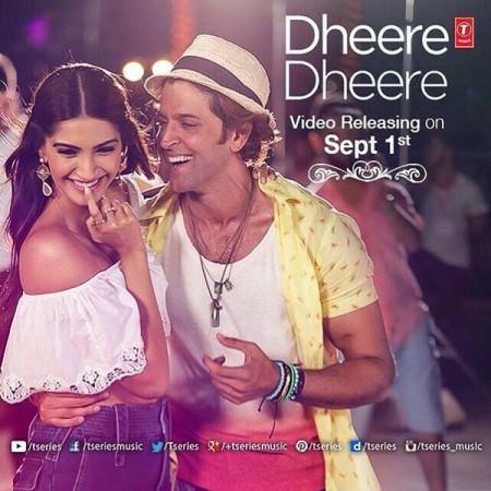 Hrithik Roshan-Sonam Kapoor Starrer 'Dheere Dheere Se' Song