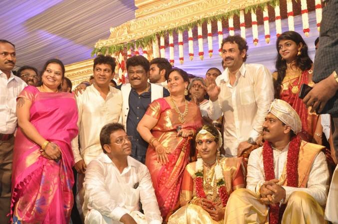 Jaggesh at Shivaraj Kumar's Daughter Wedding