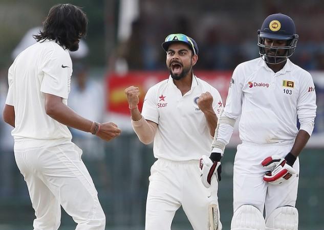 Ishant Sharma Virat Kohli India Upul Tharanga Sri Lanka