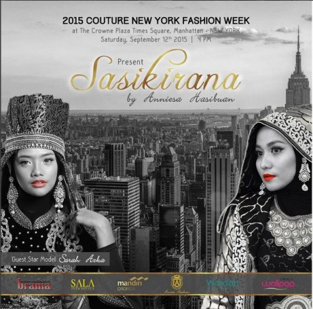 Couture New York Fashion Week 2015