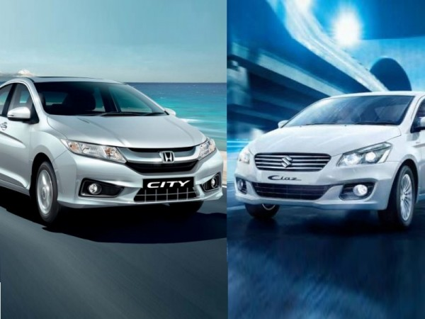 Honda City and Maruti Ciaz SHVS Hybrid