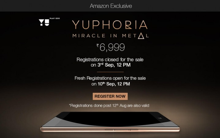 Rs 6,999 YU Yuphoria Flash Sale Kicks Off At 12PM Tomorrow On Amazon India [Purchase Tips]