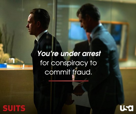 Mike gets arrested in 'Suits' season 5 summer finale