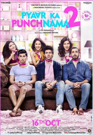 'Pyaar Ka Punchnama 2' Poster