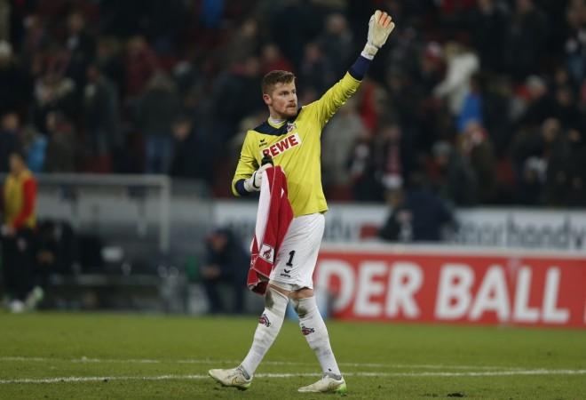 FC Koln goalkeeper TImo Horn