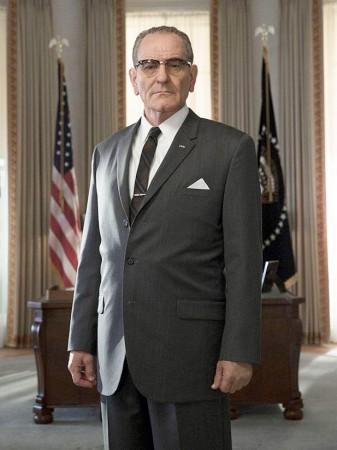 Bryan Cranston as President Johnson