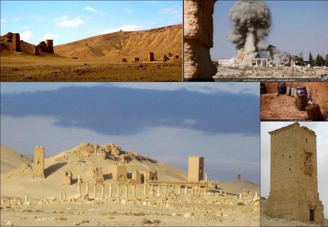 tower tombs Palmyra