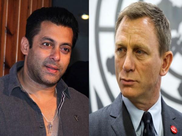 Salman Khan Daniel Craig