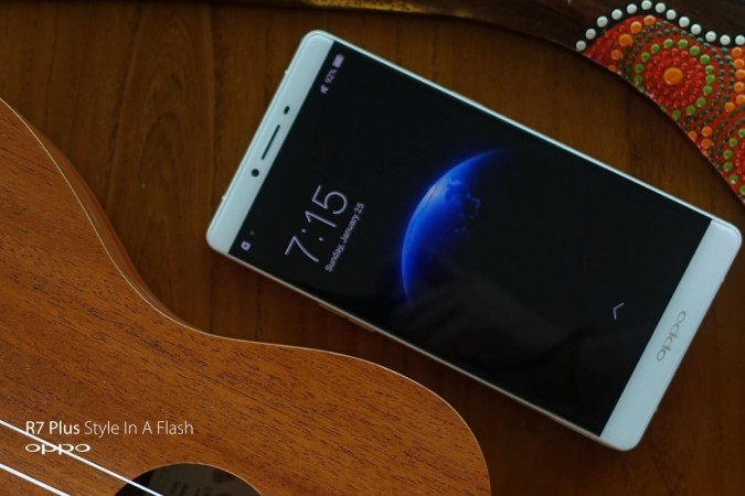OPPO Launches R7 Plus, R7 Lite With Metal UniBody, Snapdragon 615 SoC