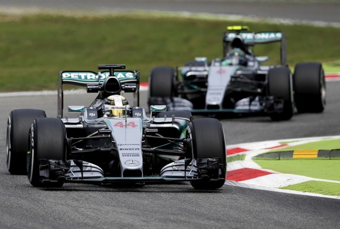 Lewis Hamilton Mercedes Nico Rosberg