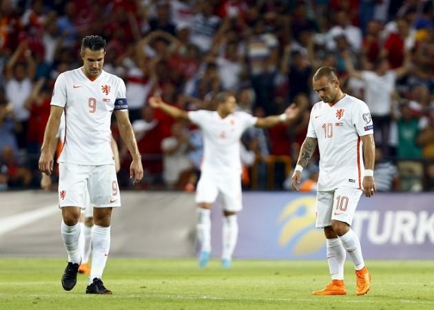 Netherlands Robin Van Persie Wesley Sneijder