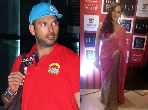 Indian Cricketer Yuvraj Singh in Relationship with 'Bodyguard' Actress Hazel Keech?