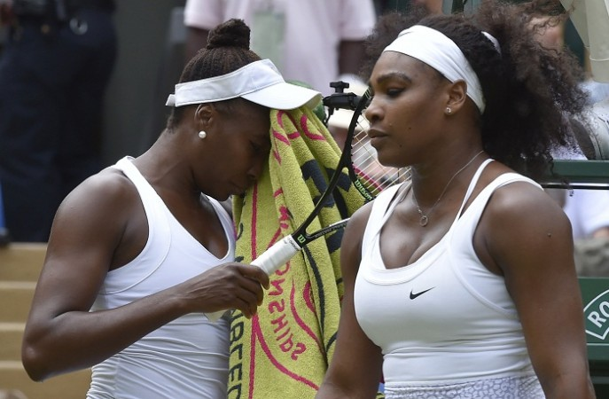 Serena Williams Venus Williams Wimbledon 2015 Fourth Round