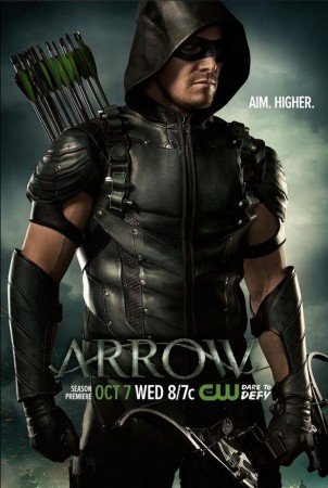 Stephen Amell as Oliver Queen aka Arrow