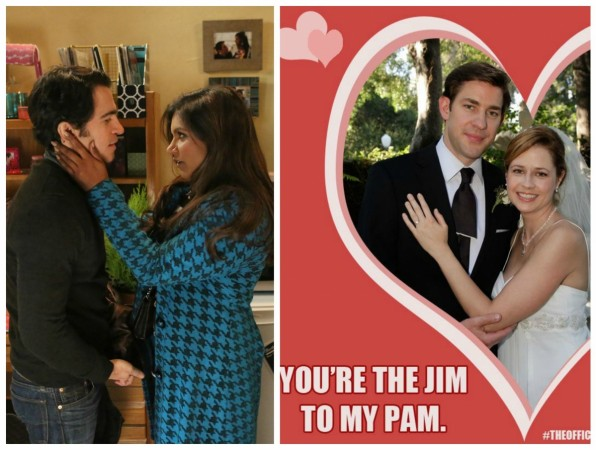 Danny-Mindy and Jim-Pam
