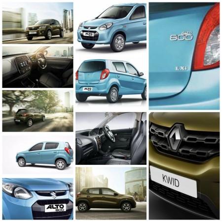 Renault Kwid vs Maruti Suzuki Alto 800; Battle of Small Cars; Specifications Comparison