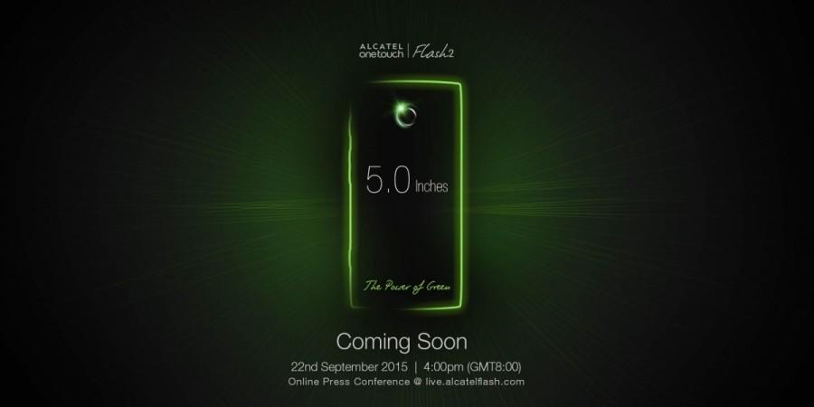 Alcatel OneTouch Flash 2 Media Invitation