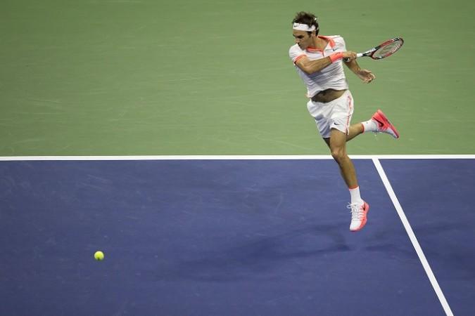 Roger Federer US Open 2015 Quarterfinal