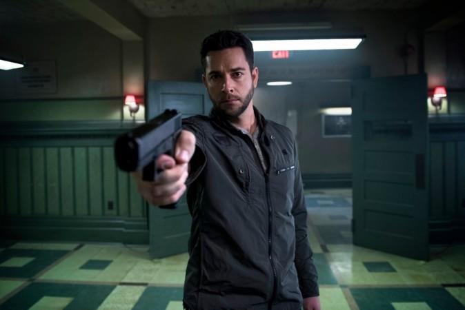 Zachary Levi as Luke Collins in 'Heroes Reborn'
