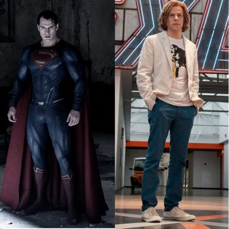 Superman and Lex Luther from 'Batman V Superman'