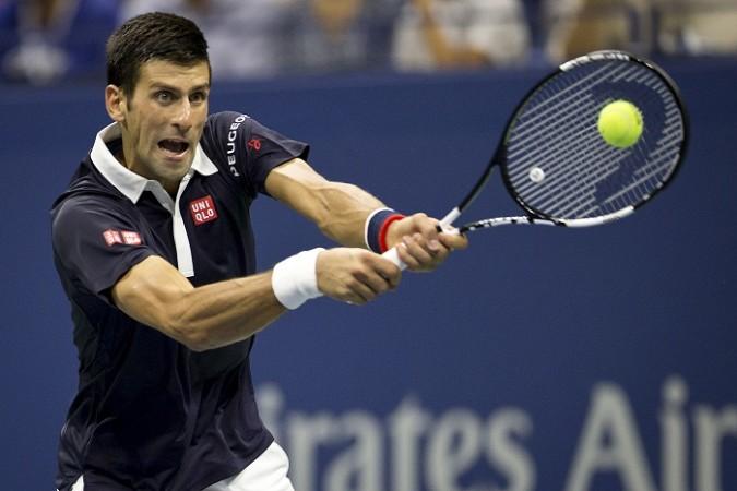 Novak Djokovic US Open 2015 Quarterfinal