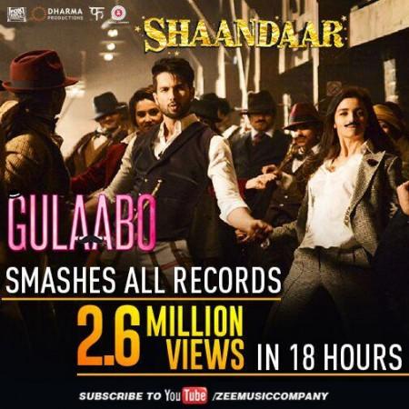 Shahid-Alia's 'Gulaabo' Song