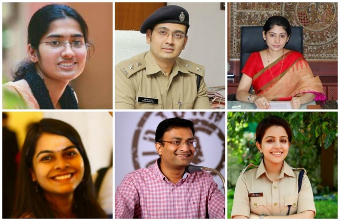 Young IPS, IAS Officers in India