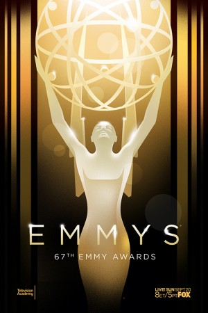 67th Emmy Awards promotional poster